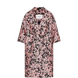 Jaidee Floral Jacquard Coat