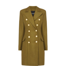 Double-Breasted Button Coat