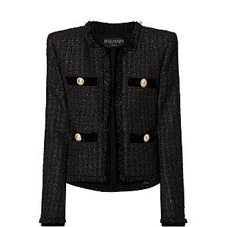 Velvet Tweed Jacket