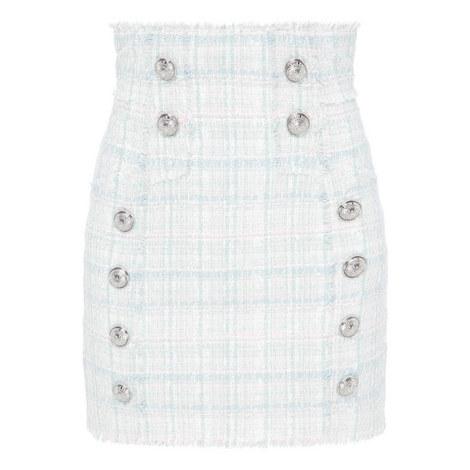 Tweed Pencil Skirt, ${color}