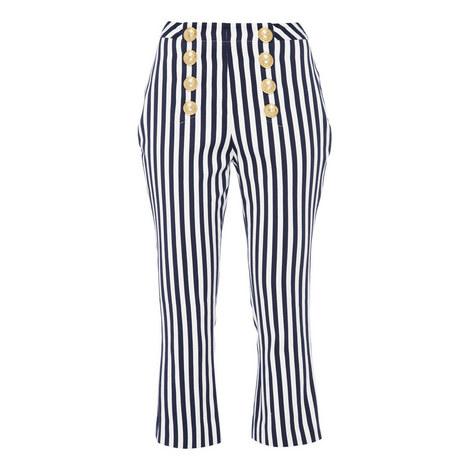 Flare Stripe Trousers, ${color}