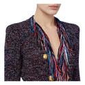 Fringed Weave Jacket, ${color}