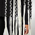 Oversized Fringe Sweater, ${color}