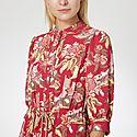 Floral Shirt Dress, ${color}