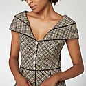 Tweed Crystal Dress, ${color}