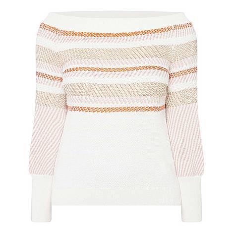 Cold Shoulder Sweater, ${color}