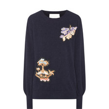 Fig Motif Sweater