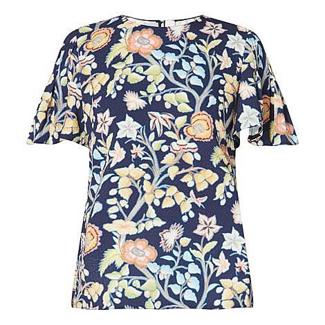 Pastel Floral Top, ${color}