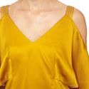 Cold-Shoulder Top, ${color}