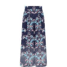 Tropical Print Culottes
