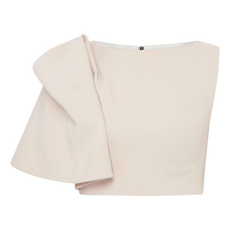 Flaunt Sleeve Bodice Top, ${color}