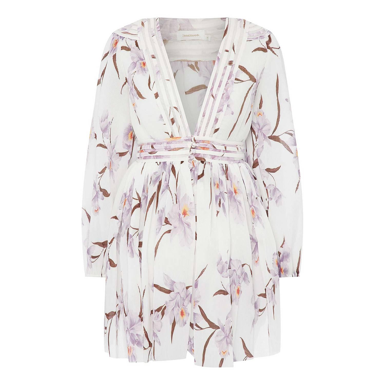 b1b2135b21c5b ... Corsage Plisse Mini Dress, ${color}