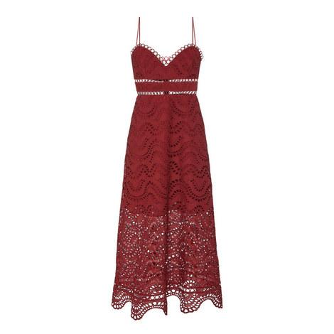 Jaya Wave Bodice Dress, ${color}