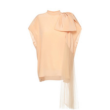 Silk Bow Top