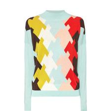 Intarsia Merino Sweater