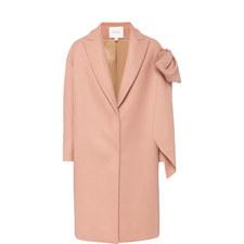 Wool Bow Coat