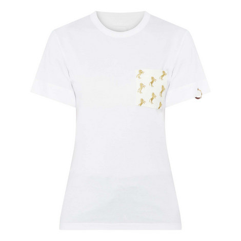 Equine Print T-Shirt, ${color}