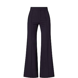 Block Stripe Trousers