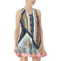 Caravan Print Mini Dress, ${color}