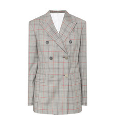 Tailored Check Blazer
