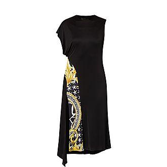 Baroque Trim Dress