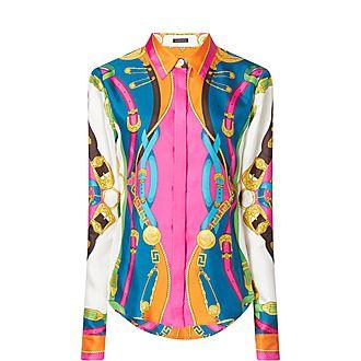 Barocco Rodeo Print Shirt
