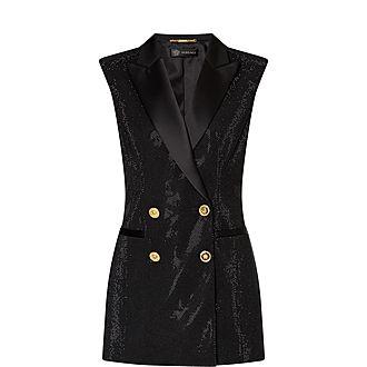 Crystal Tuxedo Vest