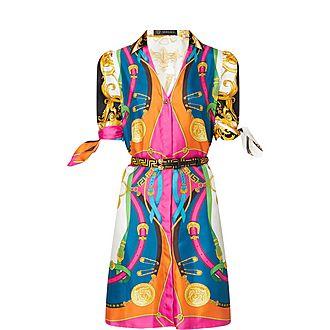 Barocco Rodeo Print Dress