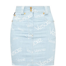 Logomania Denim Skirt