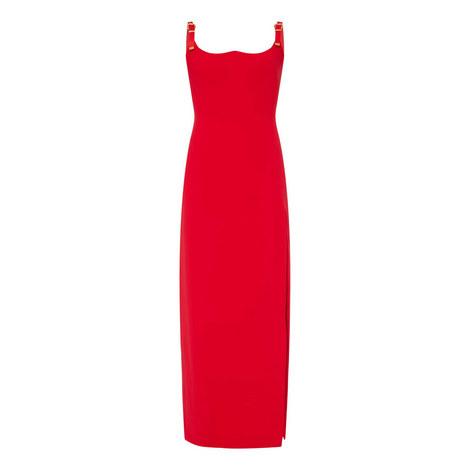 Evening Maxi Slit Dress, ${color}
