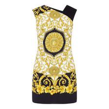 Fitted Print Mini Dress