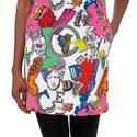 Alphabet Shift Dress, ${color}
