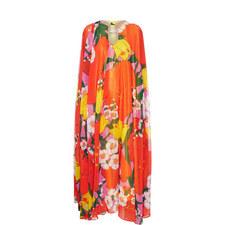 Floral Caftan Gown