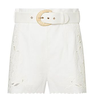 Peggy Embroidered Shorts