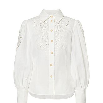 Peggy Embroidered Blouse