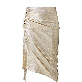 Lurex Jersey Skirt