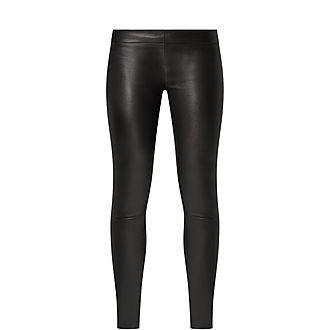 Leather Motorcross Trousers
