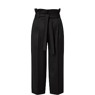 Addotto Paper Bag Waist Trousers