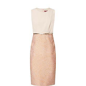 Aguzze Sleeveless Belted Dress