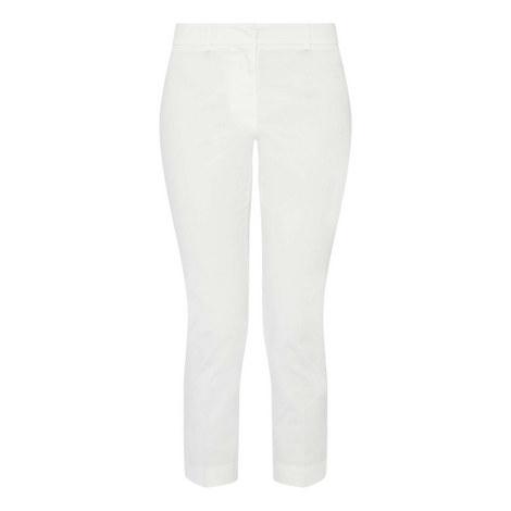 Alibi Cropped Cigarette Trousers, ${color}