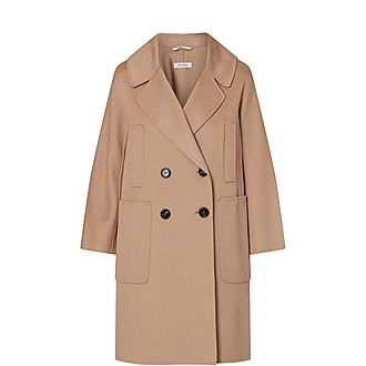 Aronaci Double-Breasted Coat
