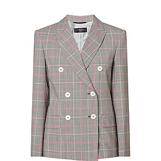 Astrale Check Wool Jacket