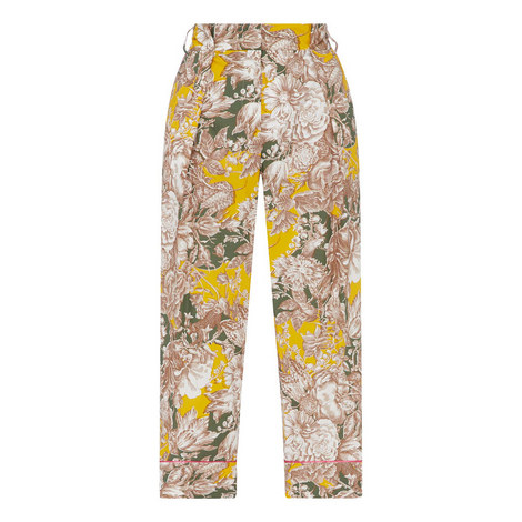 Axe Cropped Trousers, ${color}