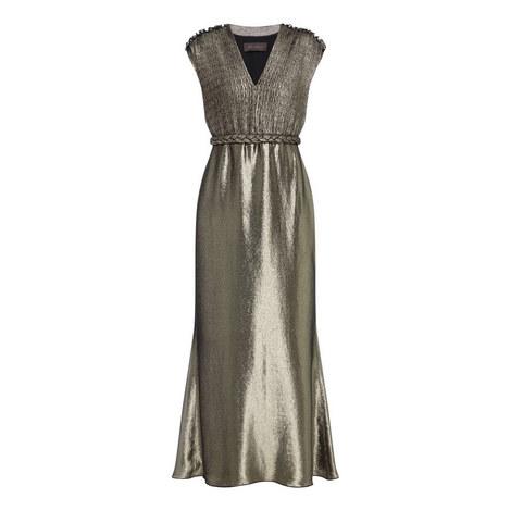 Bacio Metallic Gown, ${color}