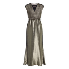 Bacio Metallic Gown