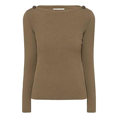 Braida Rib-Knit Top, ${color}