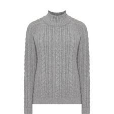 Brando High Neck Sweater