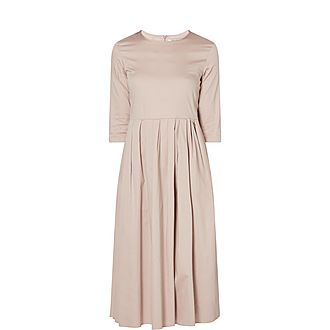 Corsaro Cotton Satin Dress