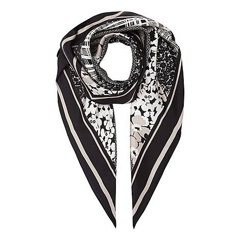 Deruta Printed Silk Scarf, ${color}