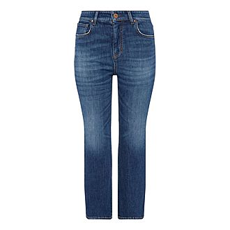 Donnola Cropped Jeans
